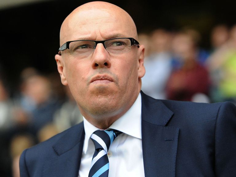 Brian McDermott: Has not been sacked as Leeds boss