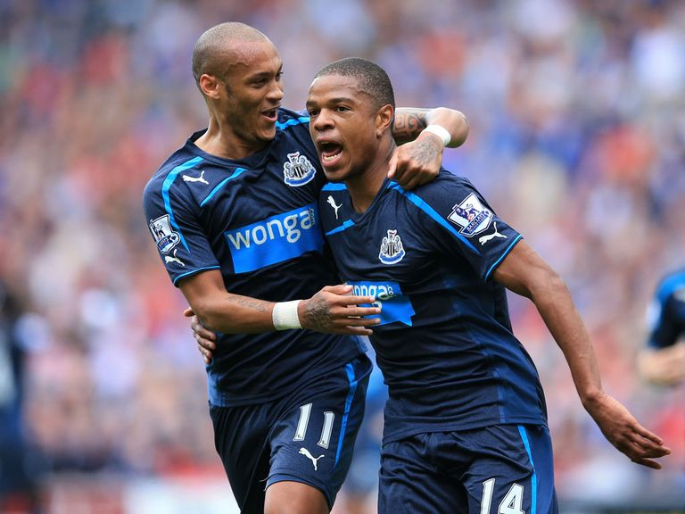 Loic Remy (r): Almost joined Newcastle back in January before signing for QPR