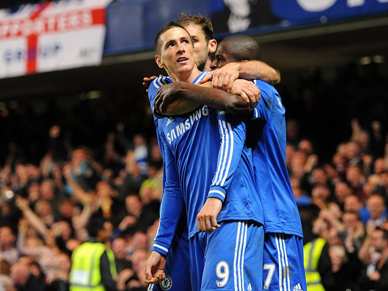 Fernando Torres scored Chelsea's late winner against Manchester City.