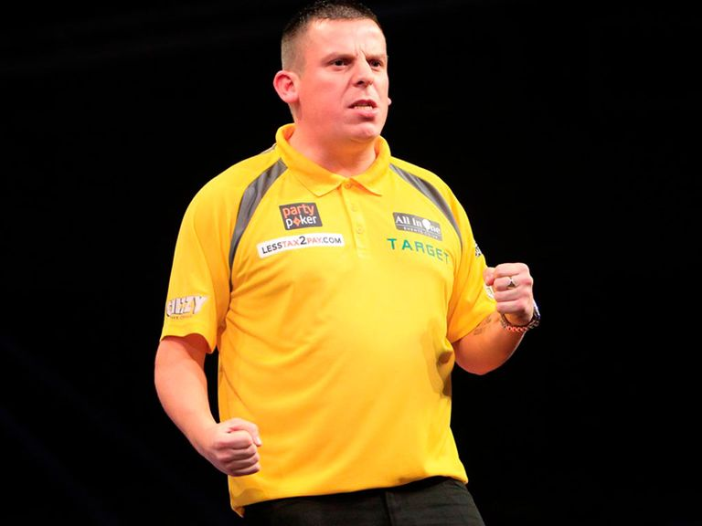 Dave Chisnall: Sent Wes Newton out of the competition