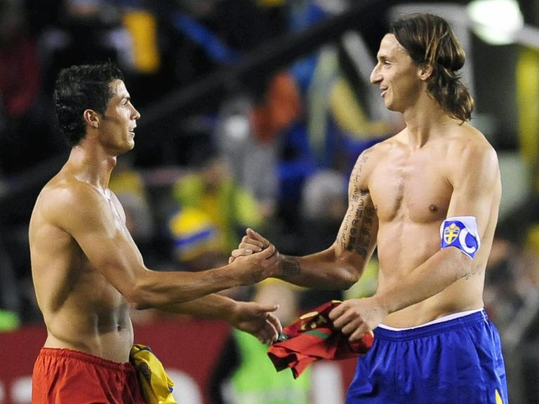 Ronaldo and Zlatan will meet in the World Cup play-offs