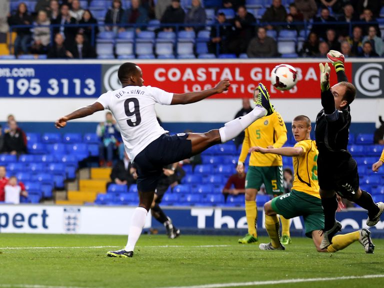 Ravel Morrison scores for England Under-21s