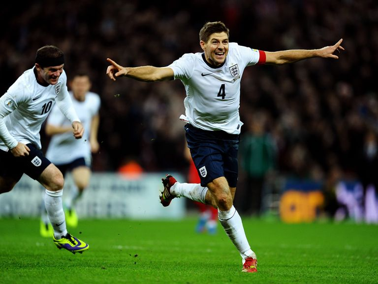 Steven Gerrard scored the second goal at Wembley