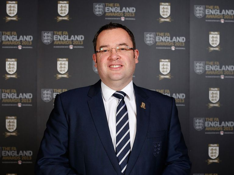 Alex Horne: Says the FA remain committed to grassroots football