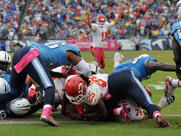 Jamaal Charles scrambles home his crucial touchdown