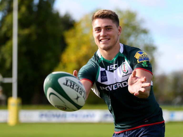 James O'Connor: Has completed his move to London Irish