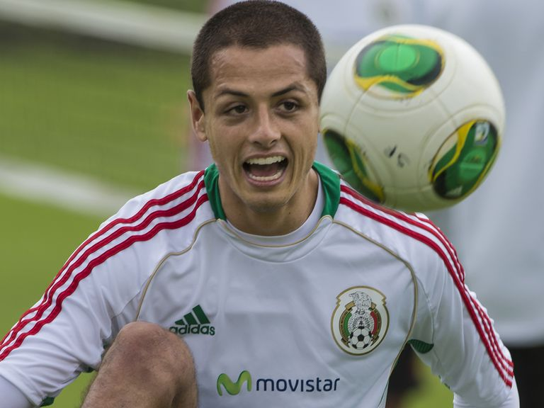 Javier Hernandez: Has picked up a knee injury