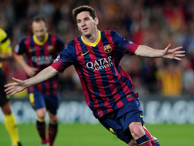 Lionel Messi: Suffering with a hamstring injury