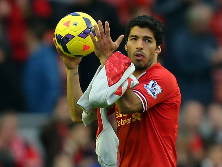 Luis Suarez: In great form for Liverpool