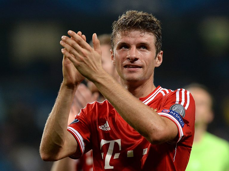 Thomas Muller: Tied to a long-term contract at Bayern Munich