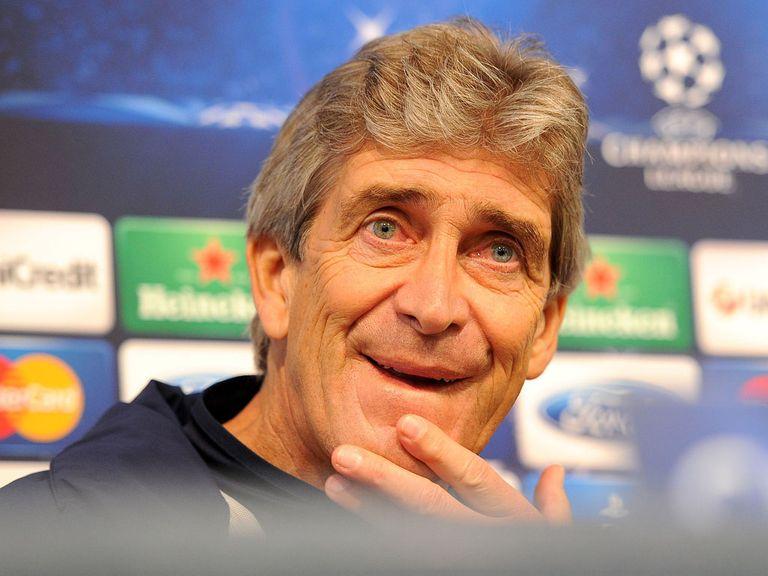 Manuel Pellegrini: Prepares to face Barcelona