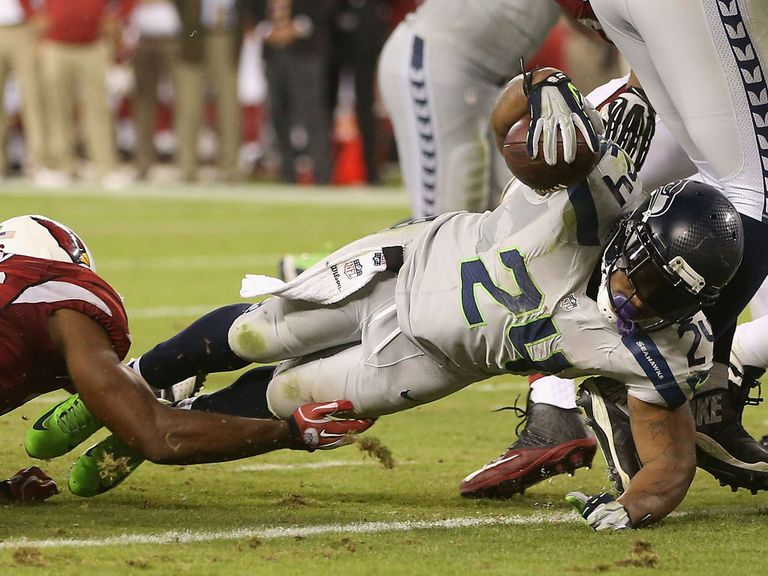 Marshawn Lynch helped Seattle claim victory