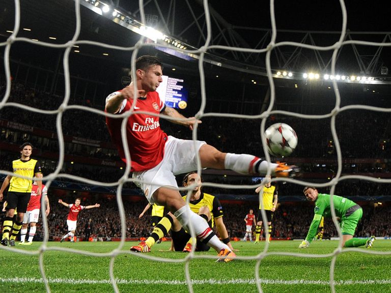Giroud: Crucial to Arsenal's cause