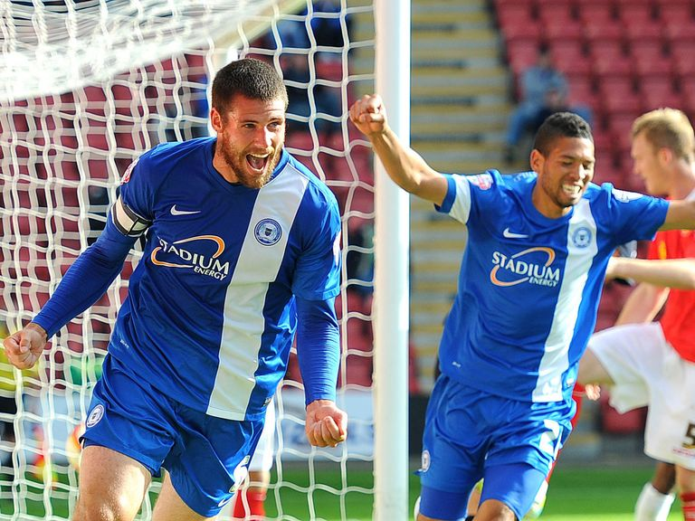 Peterborough: Can celebrate a 2-0 win at Port Vale
