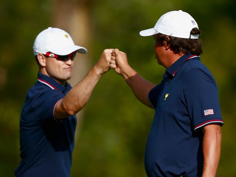 Johnson and Dufner: Closed out victory