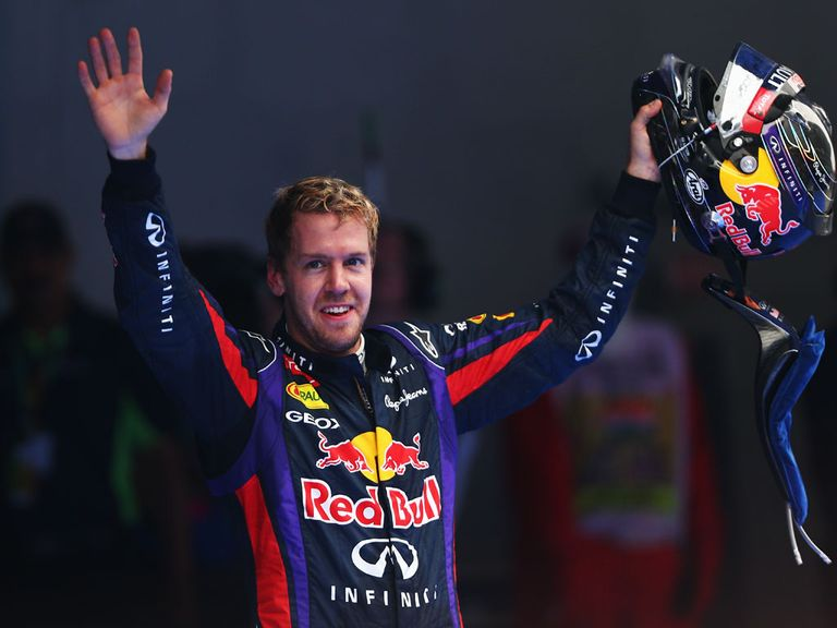 Vettel: Winner of four world titles in a row