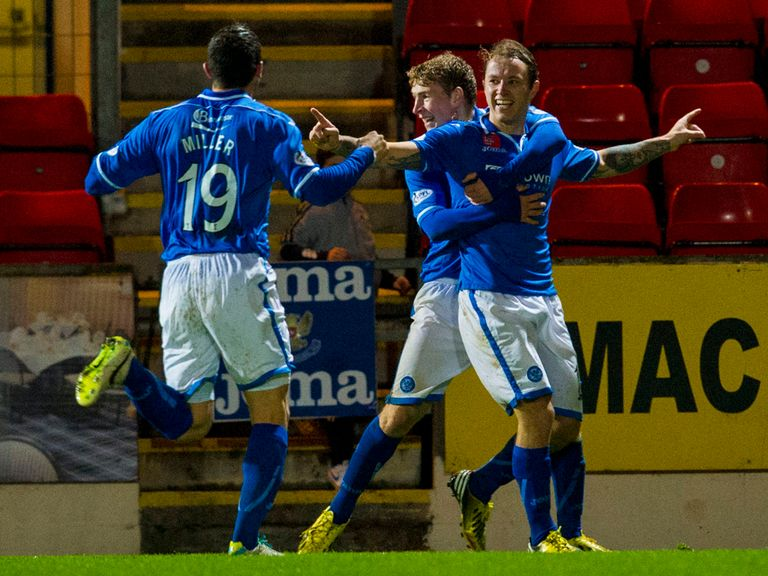 St Johnstone: Can claim victory this weekend