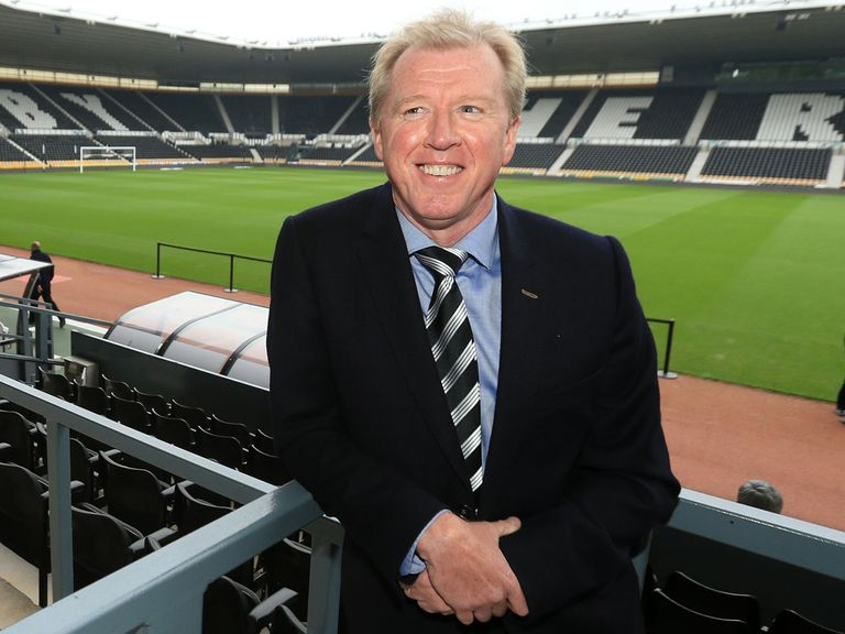 Steve McClaren: Appointed as the new Derby boss