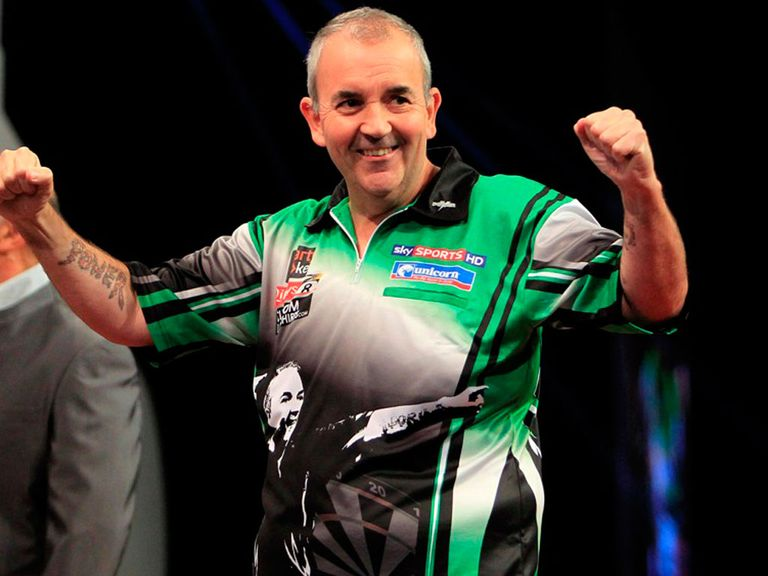 Phil Taylor: Claimed easy victory over disappointing Wade