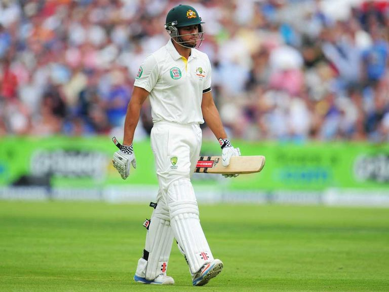 Usman Khawaja: His dismissal via DRS in the third Test caused controversy