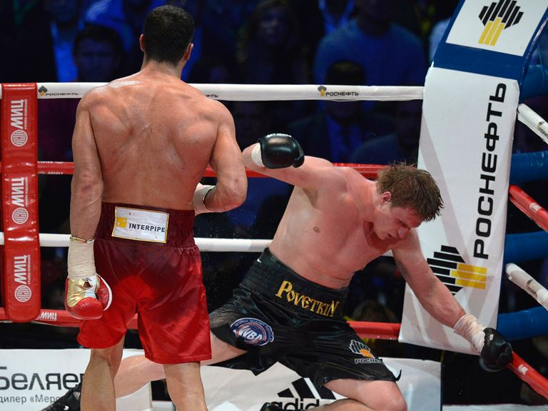 Klitschko dominated against his opponent