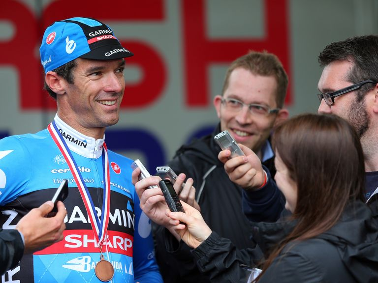 David Millar: Will retire from cycling at the end of the 2014 season