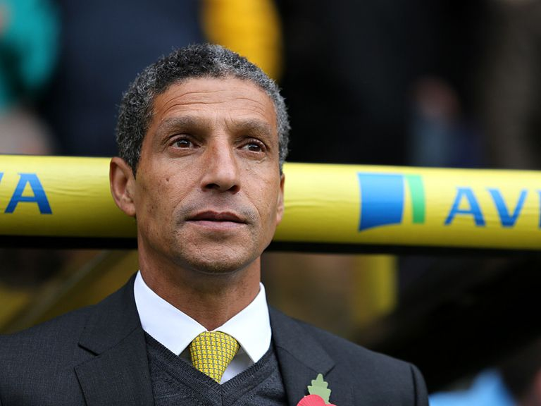 Chris Hughton: Aware of the task facing Norwich
