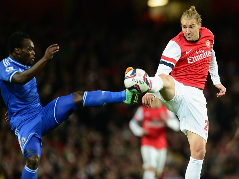 Nicklas Bendtner: Delighted to have taken his chance on Wednesday