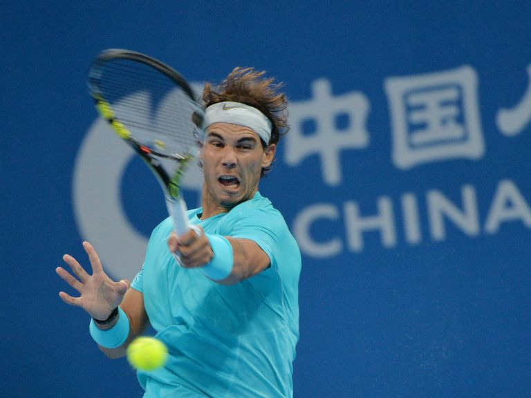 Rafael Nadal: Cruised into second round