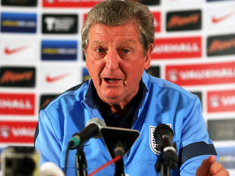 Roy Hodgson's England will take on Denmark at Wembley