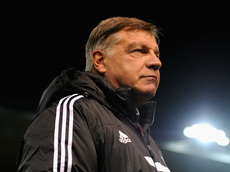 Sam Allardyce: Under pressure to improve results