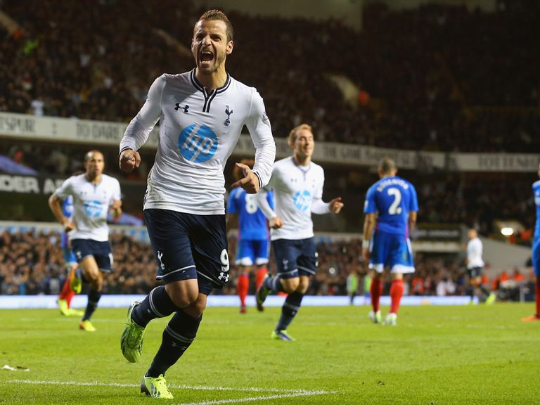 Roberto Soldado: Happy with Spurs' progress