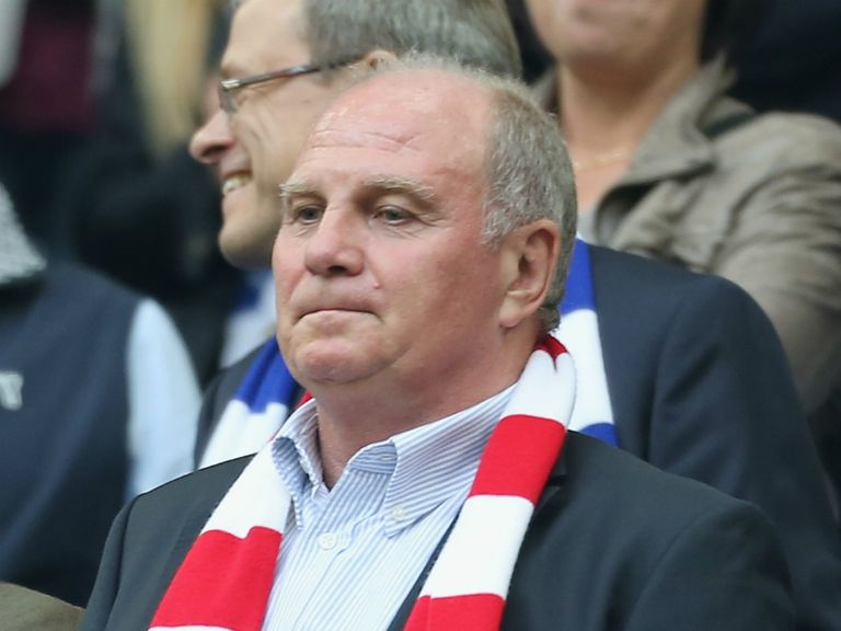 Uli Hoeness: Jailed for tax evasion