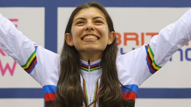 Two-time junior sprint world champion Danielle Khan will make her world cup debut