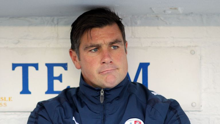 Richie Barker: Favourite for Portsmouth post