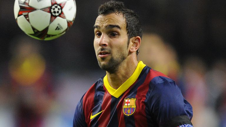 Martin Montoya: Linked with a move away from Barcelona but is staying calm over his future