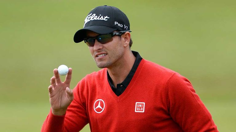Adam Scott: Four straight birdies mid round