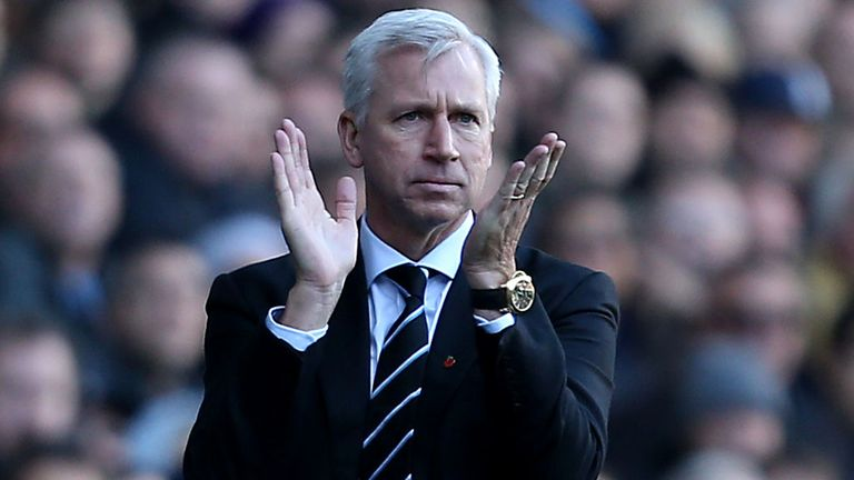 Alan Pardew: Delighted with France win