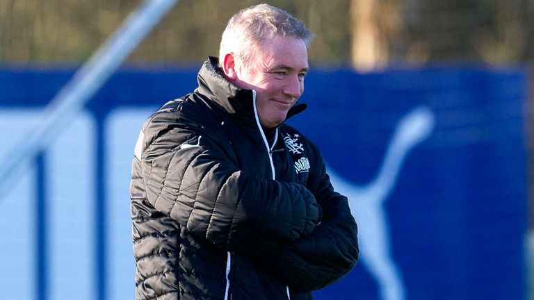 McCoist: ready to lead Rangers in Cup