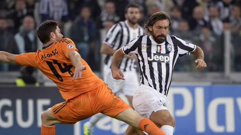 Xabi Alonso and Andrea Pirlo: Will not be swapping clubs, says Carlo Ancelotti