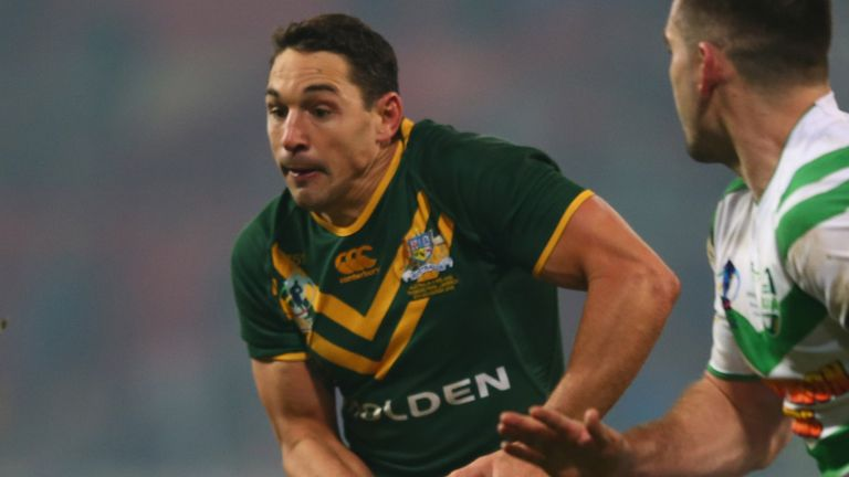 Billy Slater: Cleared of any wrongdoing after scuffle