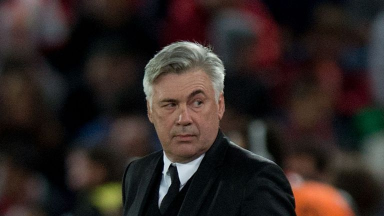 Carlo Ancelotti: Saw Real Madrid draw a blank against third tier opposition