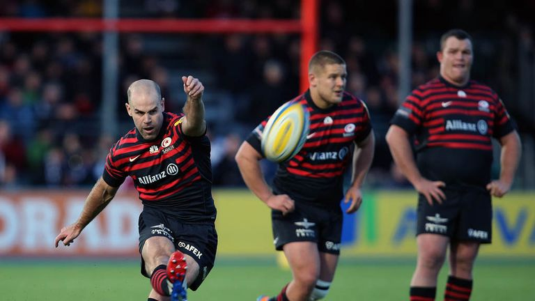 Charlie Hodgson: Veteran fly-half returns to Saracens starting XV on Sunday