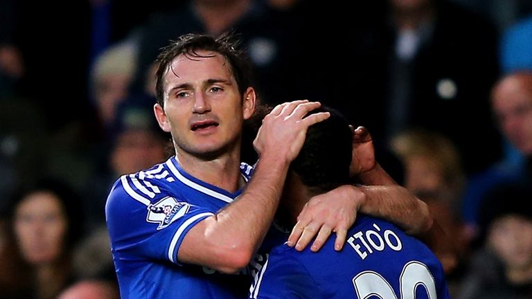 Frank Lampard: Started Chelsea's Champions League match in Turkey