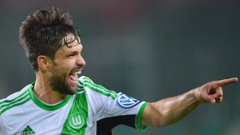 Diego: Wolfsburg's Brazilian midfielder to see out his contract