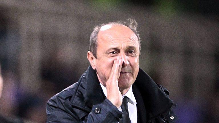 Delio Rossi: Relieved of Sampdoria role
