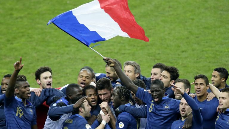 France: Announce three friendly games ahead of World Cup finals