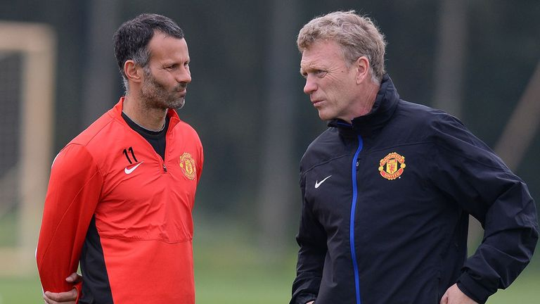 David Moyes: Manchester United boss in no rush to talk with Ryan Giggs about contract extension