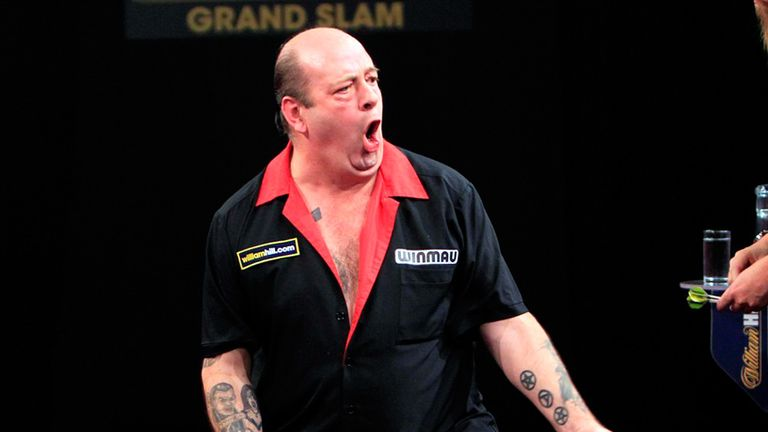 Hankey: battled back from 6-1 down to beat Whitlock