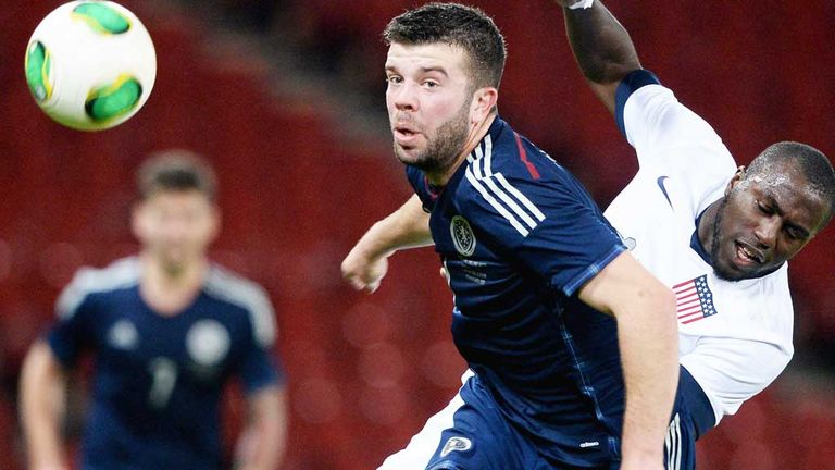 Grant Hanley: Will miss Scotland's trip to Poland this week